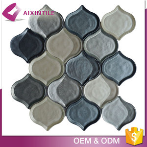 Back splash Lantern Enamel Glass Picture Mosaic Tile