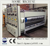 SMYS-GZ-408 SOOME high speed 4 colors corrugated carton printer NC slotter rotary die-cutter