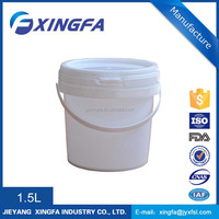 food grade stainless steel tank honey packaging plastic bucket with divider