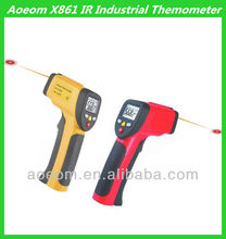 Manufacture Digital Infrared Laser Thermometer with Sensor probe for kitchen industrial use