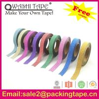 Wholesale lovely double side adhesive paper tape for embroidery