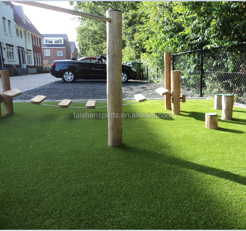 Artificial Grass for home garden, landscaping, artificial lawn turf with natural green grass looking