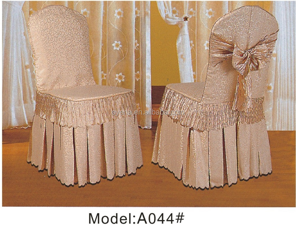chair cover skirting A044