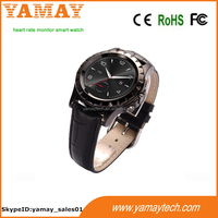 factory customized heart rate monitor smart watch with Alarm clock