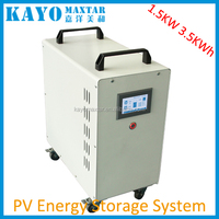 1000w portable solar power off grid generator systems with 3.2kwh lithium ion battery pack and 1.5kw off grid inverter with UPS