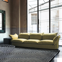 Modern Design European Style Comfortable Sofa Furniture in Living Room