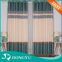 High quality Blackout Luxury embroidery Customized islamic curtains