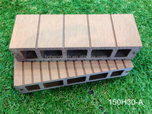 Man-made hollow wpc board anti-UV Hot area use decking wood substitution