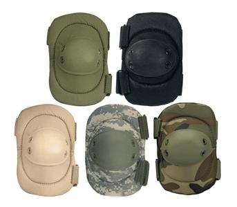 Military black color tactical knee and elbow pads for sale