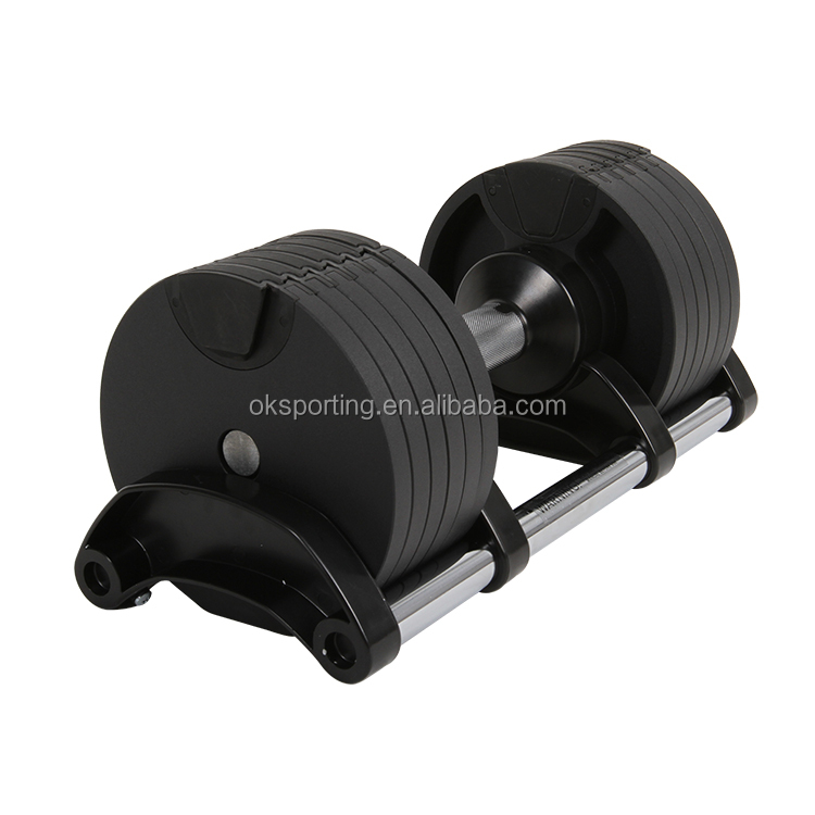 20kg Dumbbell Set New Style Crossfit Weight Lifting Adjustable Dumbbell