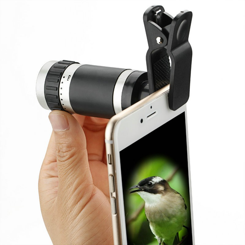 Factory Caden newest combination cell phone camera lens zoom telescope for mobile phone iphone camera lens cell phone