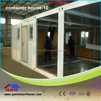 cheap nice prefab homes with ISO certification