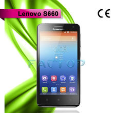 lenovo s660 ram 1gb rom 8gb with CE original android 4.2 cell phone battery hot sale