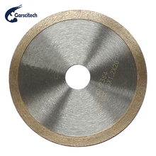 Hot Pressed Continuous Rim Turbo Cutting Disc Diamond Saw Blade Hand Tool for Cutting Brick Tile Porcelain Stone