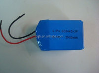 Rechargeable lithium ion polymer battery cell 3.7V 3900mah 3 parallel battery