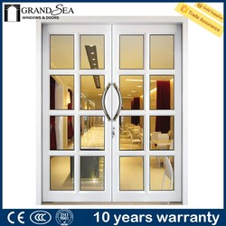 Modern design interior partition doors to front of house with insect screen