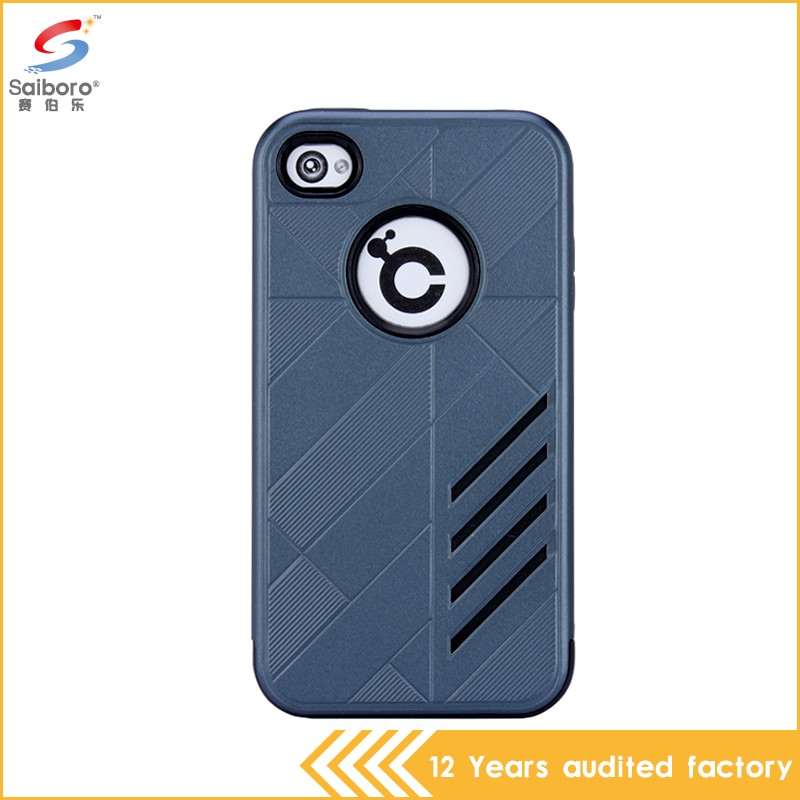Multi-color/style shockproof for iphone 4 hard phone case