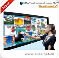 84 inch all in one pc tv touchscreen with wifi 1080P webcam all in one barebone pc