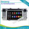Android car radio for TOYOTA Hilux 2012
