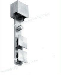 Patent Product: Stainless Steel Tempered Glass Sliding Door Roller/Wheel for Squared Tube
