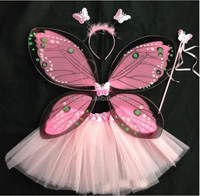 Wholesale kids dress up costume fairy butterfly wings cheap