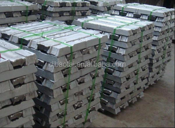 High Quality Aluminium Ingot 99.7%