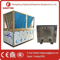 90kw(DBT-90.0SWL) EVI split air to water heat pump(CE approved,Copeland compressor)