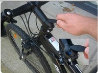 305 Spybike covert bicycle GPS tracker,Notifies you by SMS if your bicycle moves