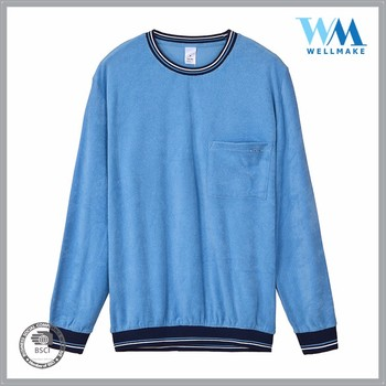 factory direct price casual fashion homecotton blue homewear