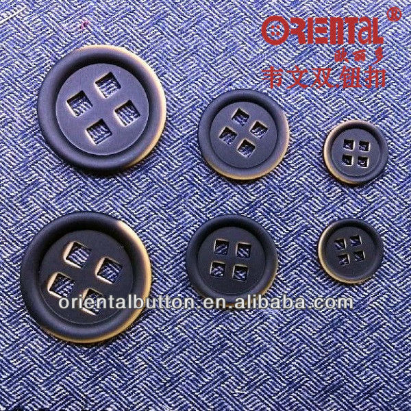 HK series excellent technic & special design fashion garment button