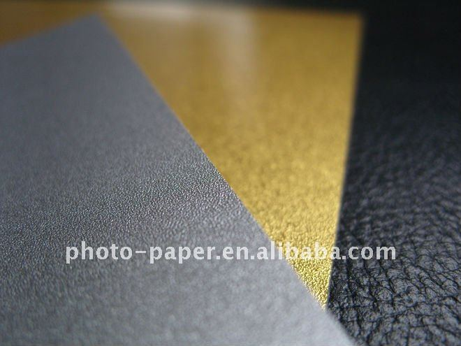 Inkjet printing polyester film/Gold&Silver&Sand&Silk finish all available/125um