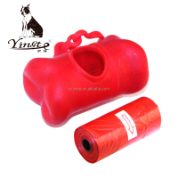 Yangzhou Yingte pet poop clean product ,biodegradable dog waste bag/ dog poop bag dispenser/drawstring dog poop bag