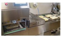 Automatic tray box vaccum filling sealing machine