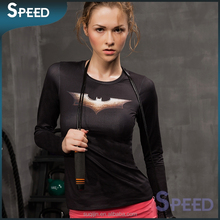 new pattern bodybuilding sublimation running shirt