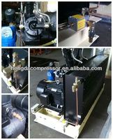 Booster 350CFM 580PSI Hengda High Pressure rooftop air conditioner compressor