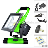 outdoor rechargeable charging camping led handle emergency 10w led flood light