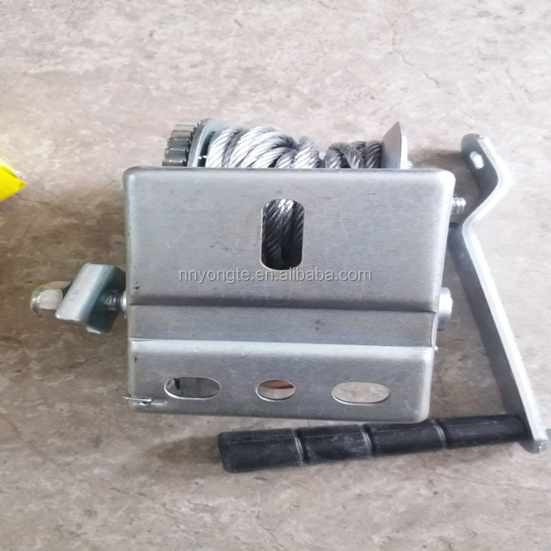 CE SGS approved Manufacturing 1200lbs galvanized mini hand winch