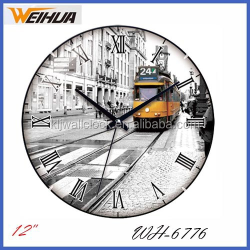 Plastic frameless wall clock,home goods wall clocks