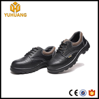 China wholesale leather casual shoes with steel toe s3