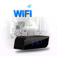 Long Time Recording Tiny Hidden Clock Cameras with Night multifunction clock camera dvr