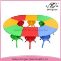 China professional supplier plastic colorful children school furniture