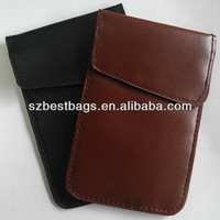 Signal blocking pouch case for mobile phone