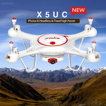 2017 Newest One Key Take-Off/Landing RC Drone 2.4G 6 Axis Gyro HD Camera RC Headless Syma X5UC RC Quadcopter with 2.0 MP Camera