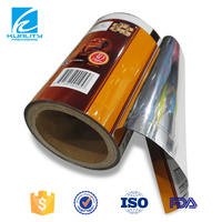 NEW Plastic laminated stretch film roll for chocolate packaging materials