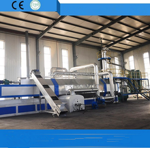 new technology! fully continues pyrolysis plant tyre extraction oil equipment