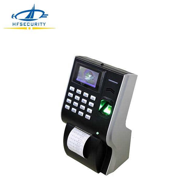 "3"" TFT Color Screen Fingerprint Time and Attendance Terminal with Thermal Printer (HF-P10)"