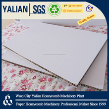 700gsm white paper honeycomb board for printing