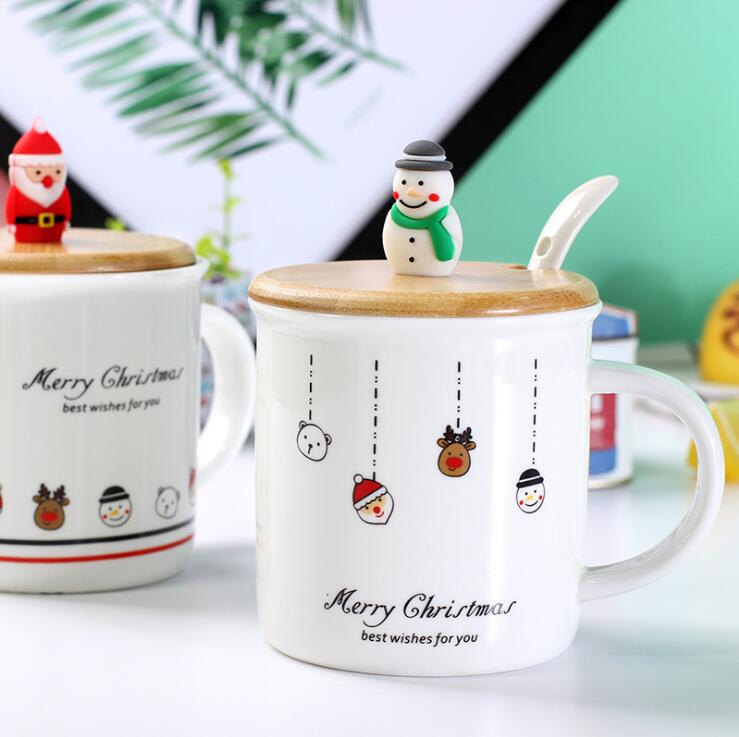 Creative Christmas Gift Ceramic Tea Mugs Water Container <strong>Cups</strong> And Mugs Top Grade Porcelain Coffee <strong>Cup</strong> Drinkware