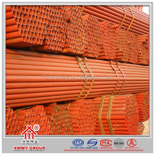 Construction Materials Galvanized Scaffolding Steel Pipe/Tube