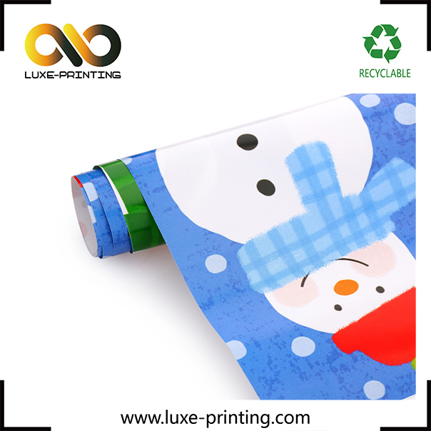High quality stone wrapping Thanks giving day gift paper roll